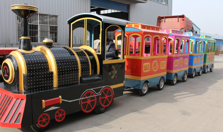 trackless train rides supplier