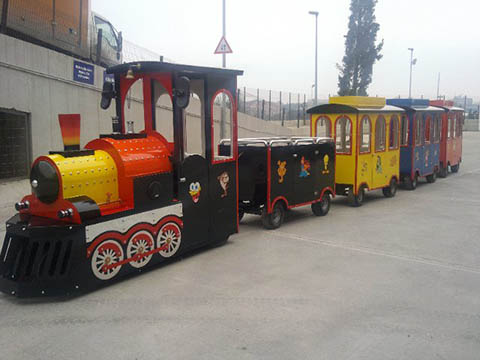buy hot sale trackless trains cheap