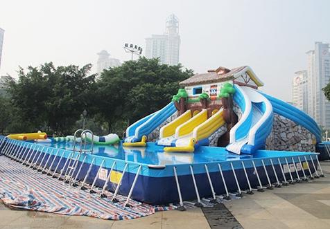Metal Frame Swimming Pool for Sale in Beston