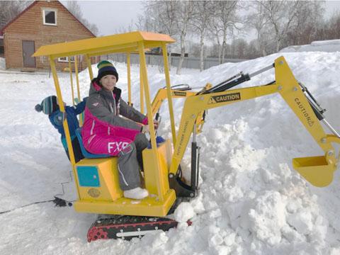 Buy attraction children's excavator