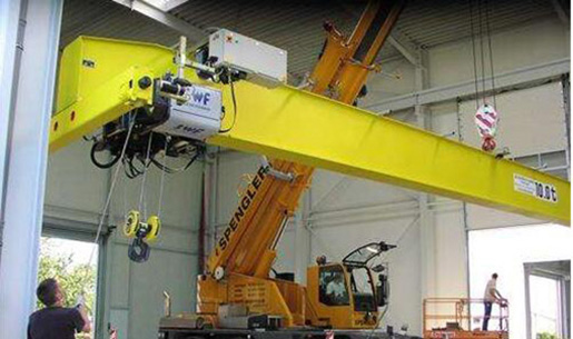 Single crane overhead